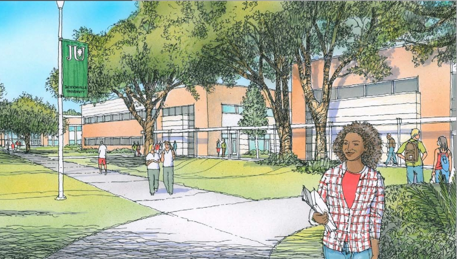Jacksonville University selects Perry-McCall as contractor for College of Health Sciences project
