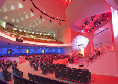 First Baptist Church of Jacksonville – Ruth Lindsay Auditorium Renovation