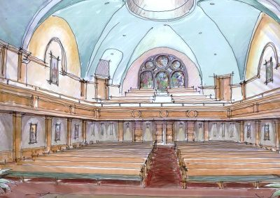 FIRST BAPTIST CHURCH OF JACKSONVILLE – MAIN AUDITORIUM RENOVATION, PHASE TWO