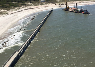 Ft. Clinch Fishing Pier Removal